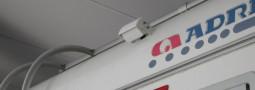 Montaggio retrocamera – monitor da 7 pollici