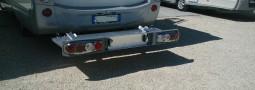 Montaggio portamoto da 180 kg
