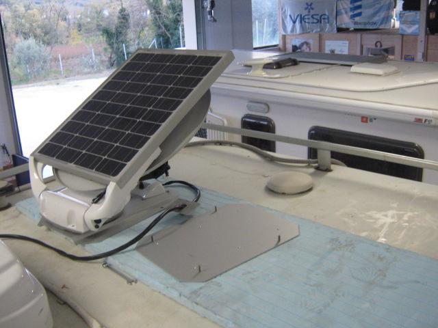 Quanto Costa Pannello Solare Per Camper : Montaggio parabola con pannello squadralab srl