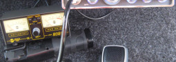 Montaggio cb con antenna motorizzata