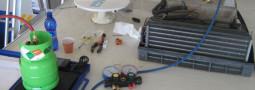Ricarica freon condizionatore