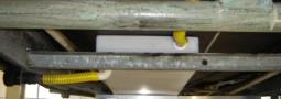 Installazione serbatoio acque chiare/grigie su roulotte